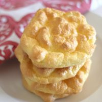 Fluffy Cloud Bread - Plain and Simple