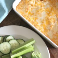 Low Carb Buffalo Chicken Dip