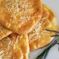 Garlic, Rosemary and Parmesan Cloud Bread