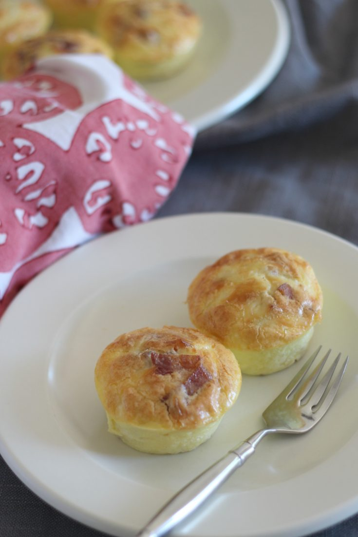 Bacon and Gruyère Egg Bites