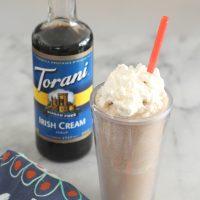 Low Carb Irish Cream Coffee Frappé