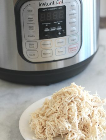 This is a quick and easy way to prepare a big batch of frozen chicken breasts in 40 minutes using the Instant Pot. This is perfect for meal prepping chicken breast for the week!