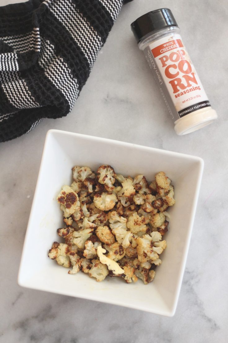 Roasted Cauliflower Popcorn