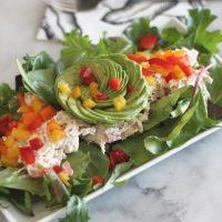 Bell Pepper Fajita Chicken Salad