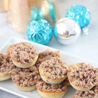 Keto Cinnamon Streusel Egg Loaf Muffins