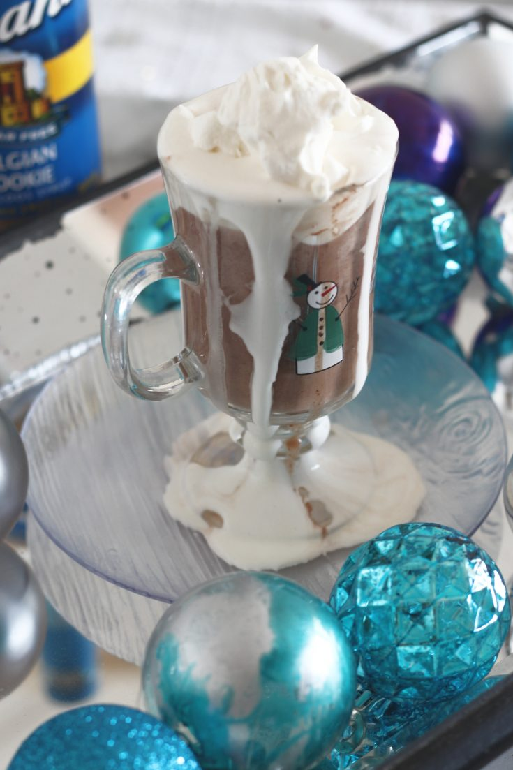 Low Carb Belgian Cookie Hot Chocolate