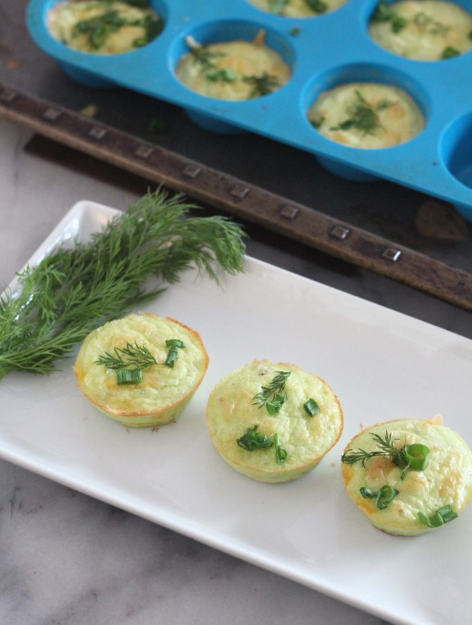 These keto ham, cheddar and herb egg bites are perfect for meal prep and tastes fantastic. #lowcarbdelish #eggbites #ketobreakfast #lowcarbbreakfast #lchfrecipes #quickketorecipes