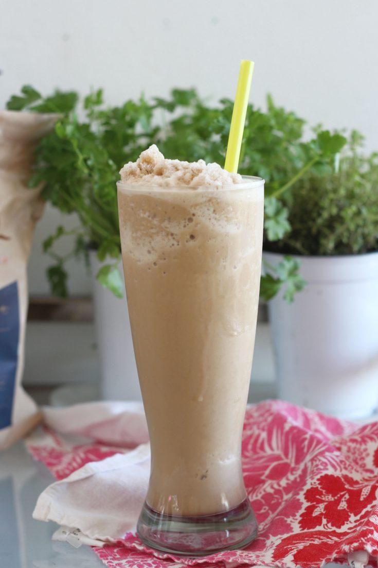 Hazelnut Keto Coffee Frappé