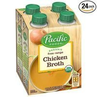 Pacific Foods Organic Free Range Chicken Broth, 8oz, 24-pack