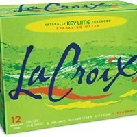 LaCroix Sparkling Water, Key Lime 12oz Cans, 12 Pack, Naturally Essenced, 0 Calories, 0 Sweeteners, 0 Sodium