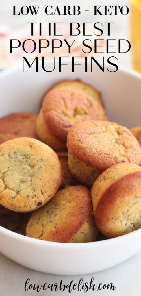These poppy seed muffins are so good, you wouldn't even know they are keto! The recipe is simple and easy to follow and the muffins turn out great every time. Less than 2 ne
