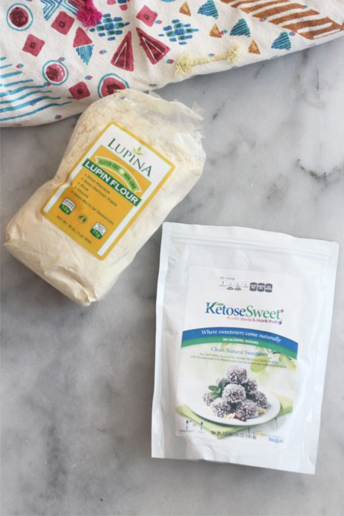 Lupin Flour and KetoseSweet+