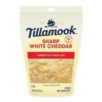 Sharp White Cheddar Shredded Cheese