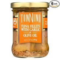 Tonnino Tuna Fillet,Garlc/Olvoil 6.7 Oz (Pack Of 6)