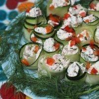 Tuna Cucumber Rolls