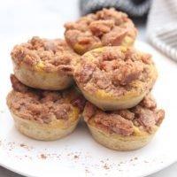 Keto Pumpkin Pie Egg Loaf Muffins