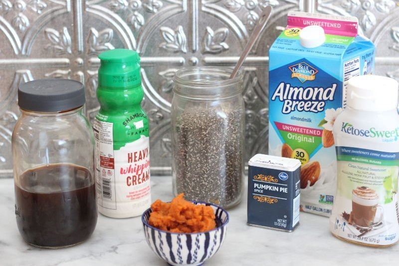 Craving something pumpkin spice but not wanting all the sugar? Then you will love this Keto Pumpkin Spice Chia Pudding. It is perfect pumpkiny treat!