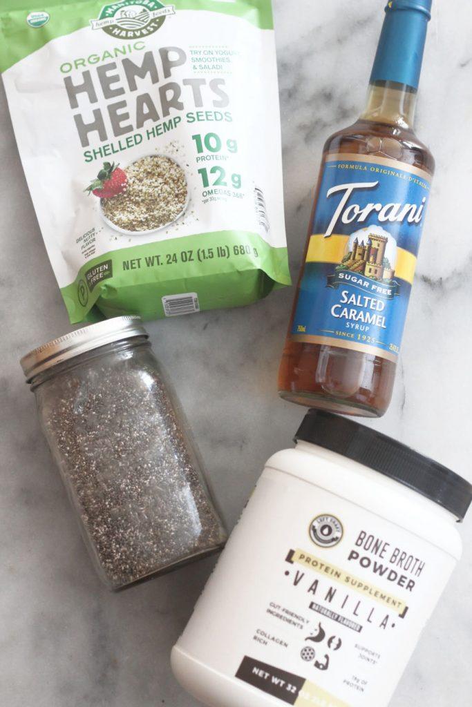 Keto No-oats ingredients