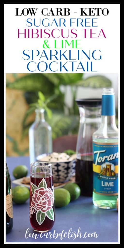 Sunny weather calls for brunch and yummy cocktails. Make them easily with some cold brew tea and Torani Sugar Free Lime syrup. Add a bit of sparkling wine and enjoy without the guilt! #ToraniTeaCocktails #Ad #sugarfreecocktails #brunchcocktails @tupperwareusca @ToraniFlavor